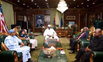 Gambian coalition says Buhari has what it takes to face Jammeh