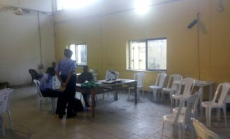 UPDATED: INEC officials abandon returning officer at collation centre