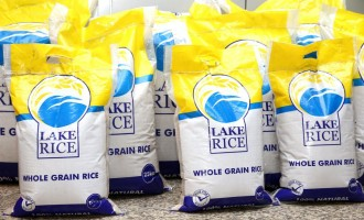 HURRAY! Bag of rice goes for N12,000 in Lagos