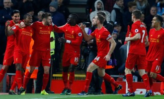 Wijnaldum heads Liverpool ahead of title rivals City