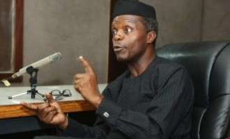Osinbajo rejects four national assembly bills