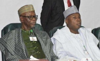 Oyegun meets Saraki, APC senate caucus 'to strategise on 2019'