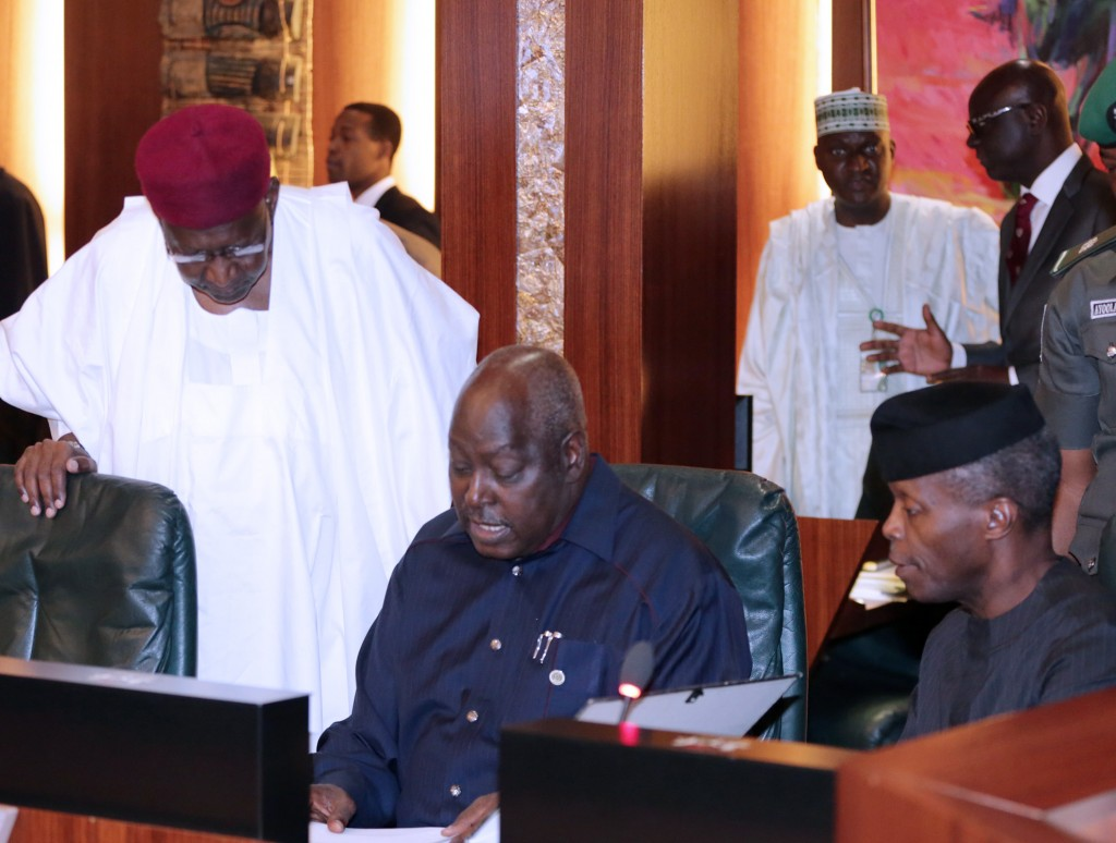 ACTING PRESIDENT PRESIDES OVER 3RD FEC MEETING