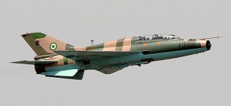 Air force 'bombs large gathering of insurgents' in Borno