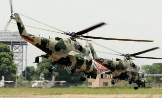 Air force deploys fighter jets in Plateau