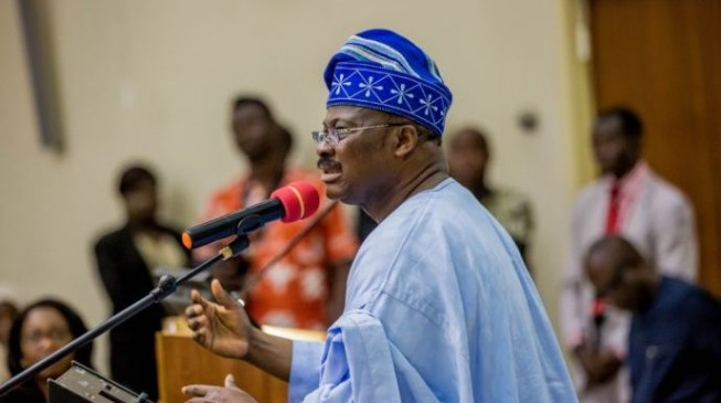 Ajimobi: Politics is a game, if God plays it, some people will abuse Him