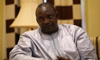 Barrow: Jammeh can't stay in Gambia for now, I believe he'll go to Guinea