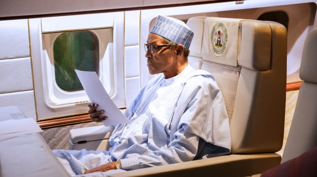 Diplomats say Buhari 'routes trips via UK' to avoid declaring medical leave