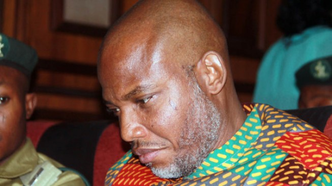 Soldiers 'surround' Nnamdi Kanu's home, attack journalists