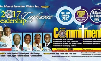 Osinbajo leads other dignitaries to Men of Issachar Vision's conference
