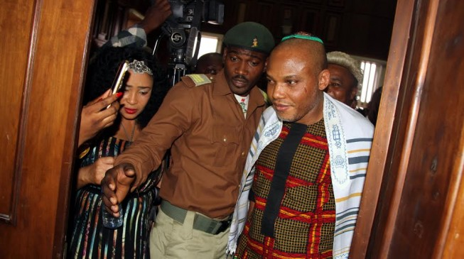 Kanu: DSS killed 9 people who came to visit me in prison