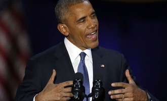 Obama to Americans: Democracy needs you to survive, guard it jealously