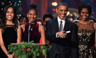 4 inspiring quotes from Obama's emotional tribute to wife, daughters