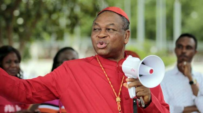 Onaiyekan: We hear Sambisa has been cleared… where are the Chibok girls?