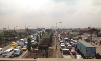 Many 'trapped' in total traffic lockdown on third mainland bridge