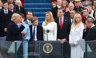 I'll fight for you, Trump tells Americans as he takes oath of office