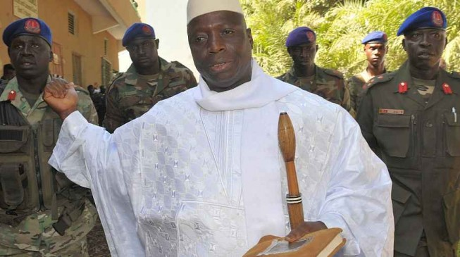 Nigeria leader in new effort to get Gambia's Jammeh to leave