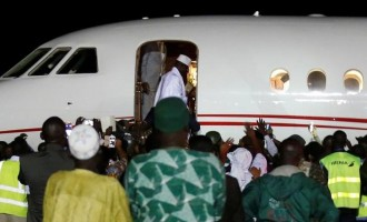 Jammeh finally leaves Gambia
