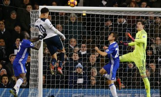 Alli's brace ends Chelsea's winning run, sends Arsenal out of Top 4