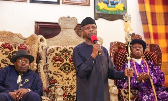 Bayelsa is the Jerusalem of Ijaw nation, says Osinbajo