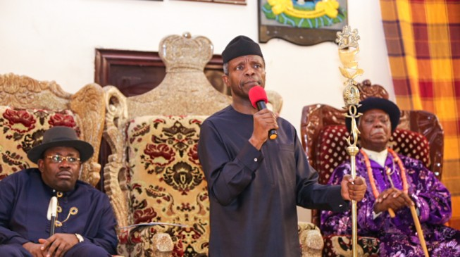 Bayelsa is the Jerusalem of Ijaw nation says Osinbajo