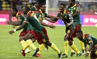 Cameroon stop Ghana's 35-year quest for Afcon gold