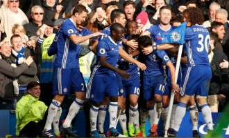 Chelsea host Burnley, Arsenal battle Leicester on opening day of 2017/18 EPL season