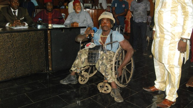 Ebonyi gov demands immediate sack of soldiers who assaulted physically-challenged man