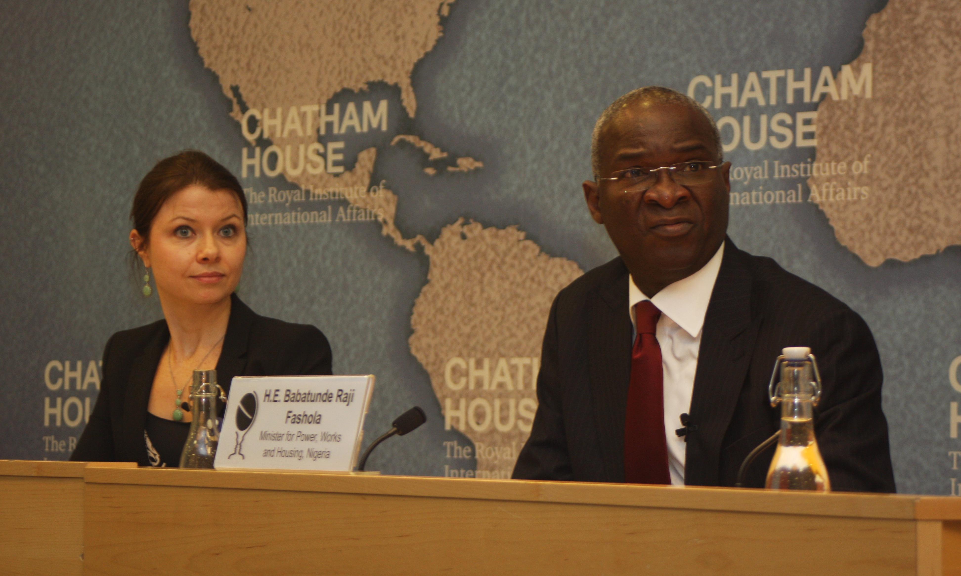 Fashola at Chatham House