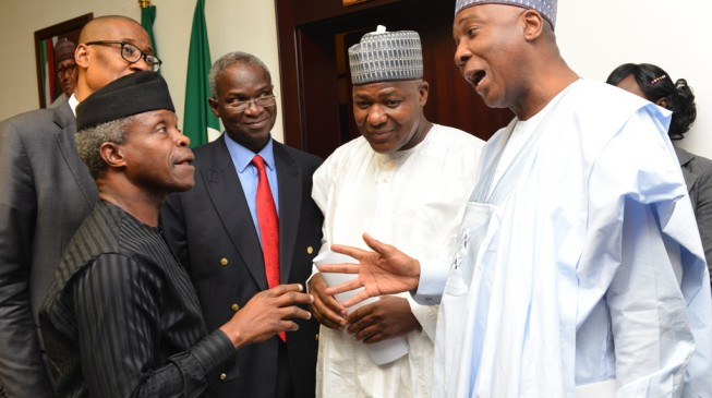 Dear Acting President Osinbajo, Saraki is coming… act fast!