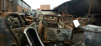 Mob destroys shops, houses of Nigerians in South Africa