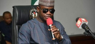 Only the blind won't see what we are doing, says Yahaya Bello