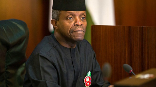 Osinbajo inspects toilets, carousel during surprise visit to Lagos airport
