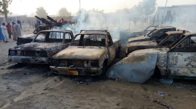 Troops kill six 'suicide bombers' in Maiduguri