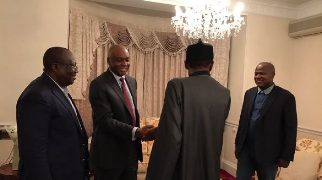 The president I saw today is healthy, says Saraki