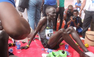Again, Kenyan wins Lagos city marathon