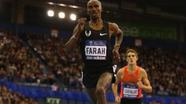 Athletics: Farah says Birmingham will be his last indoor race