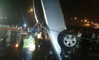 NEMA says 'woman died, driver escaped unhurt' in Lagos accident