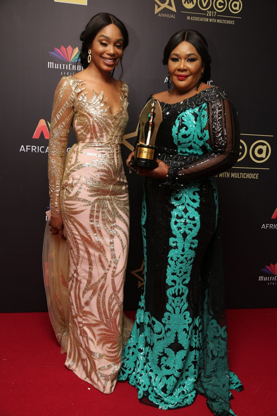 AMVCA winners pose with their trophies