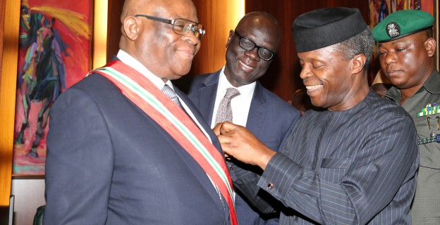 Images from Onnoghen's swearing-in ceremony