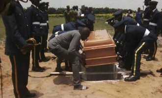Airwoman killed by jealous lover laid to rest