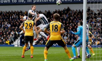 Iwobi unable to save Arsenal from defeat at West Brom