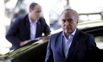 EXTRA: 'Evil spirits' chase Brazilian president out of residence