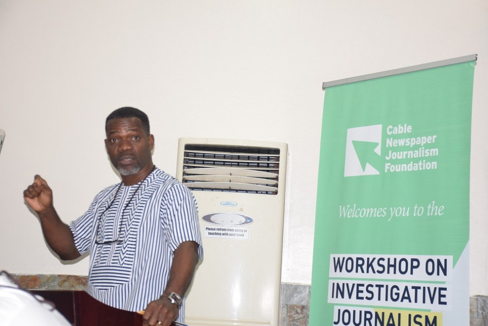 Images from the inaugural workshop of Cable Journalism Foundation