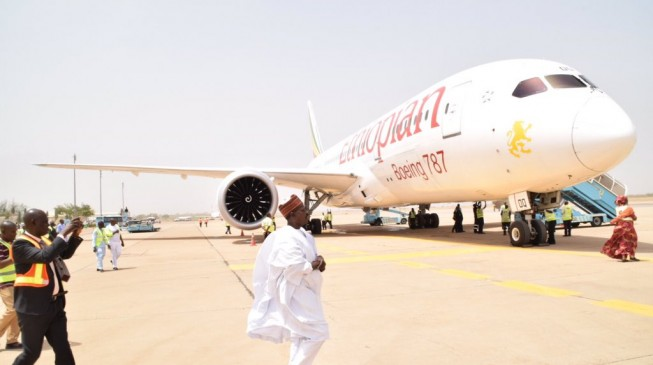 VIDEO: Ethiopian Airlines lands in Kaduna