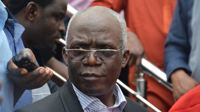 EXTRA: 'I won't leave it to God' — Falana to sue FG after falling into manhole