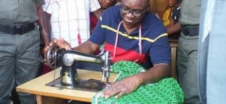 EXTRA: From tailor to butcher… Fayose turns 'task force gov'