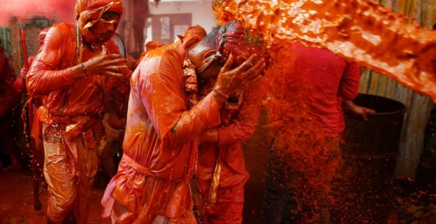 Hindus celebrate Festival of Colours