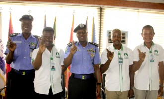 Police partner with 'Not In My Country' to combat corruption
