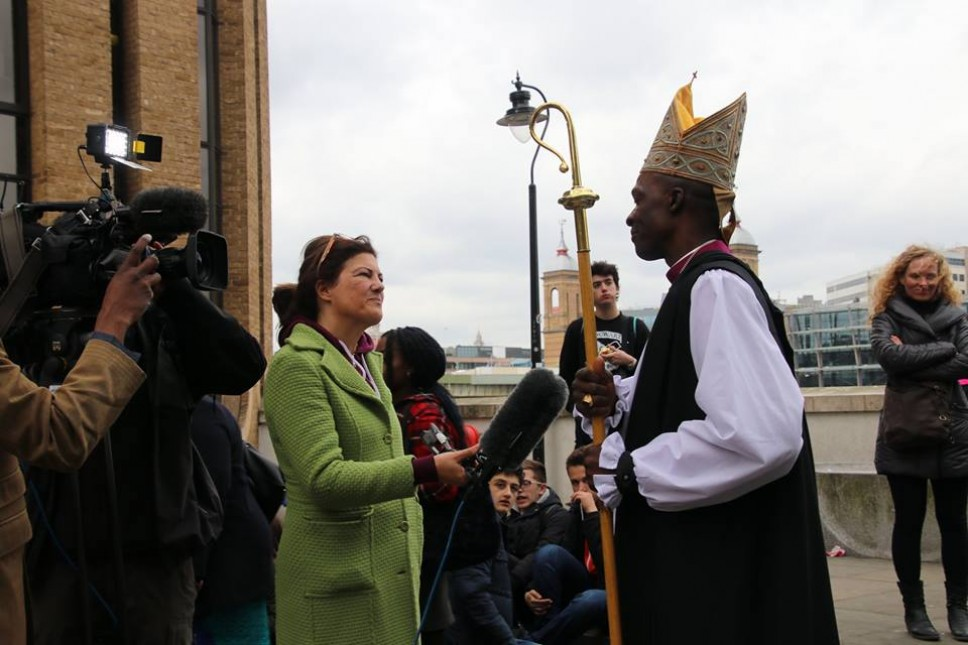 Ordination of Nigerian – who is England's first black bishop in 20 years